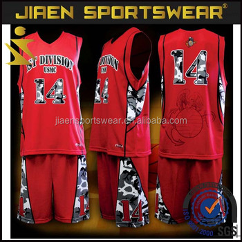 2ccc4fd14c8 2016 new design custom basketball jersey black and red reversible basketball  uniform set
