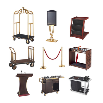 Hotel supplies list amenities set room furniture