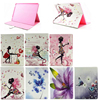 Fashionable Butterfly & Girl Pattern Leather Book Case for iPad Pro, For iPad Pro Book Case