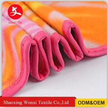 Hot sale fashion style kinnted custom polyester knitted blanket