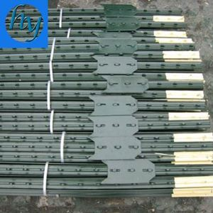 2016 Hot Used Metal Steel Fencing T Post Wholesale With Post Caps For Sale