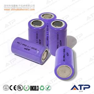 Hottest 3 7v 900mah li-ion battery 18350 or 18360 battery