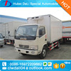 Hot sale Dongfeng 4*2 refrigerated van truck of 7 tons