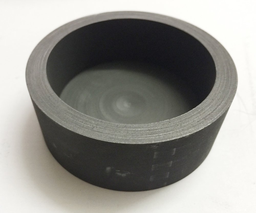 OTOOLWORLD 99.9% Purity Graphite Evaporating Dish Graphite Evaporation Crucible Cup Graphite Distillation Bowl (80MMx30MM)