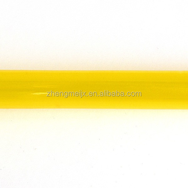 Yellow Transparent Pvc Soft Pipe/Hose For Gift Decoration/Craft Rattan Weaving