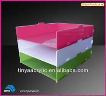 High Quality Stackable Acrylic Storage Box For Any Things