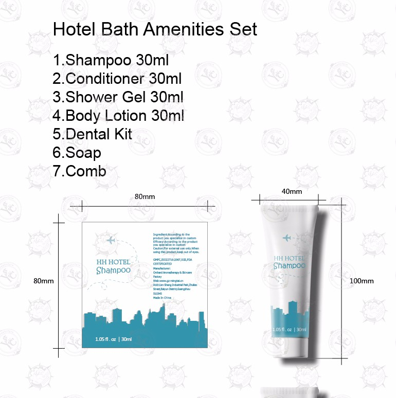 Wholesale Superior Quality Hotel Amenities Set/ Hotel Room Amenities List/bath And Body Works