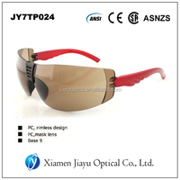Antifog and anti-scratch uv protection high security safety glasses