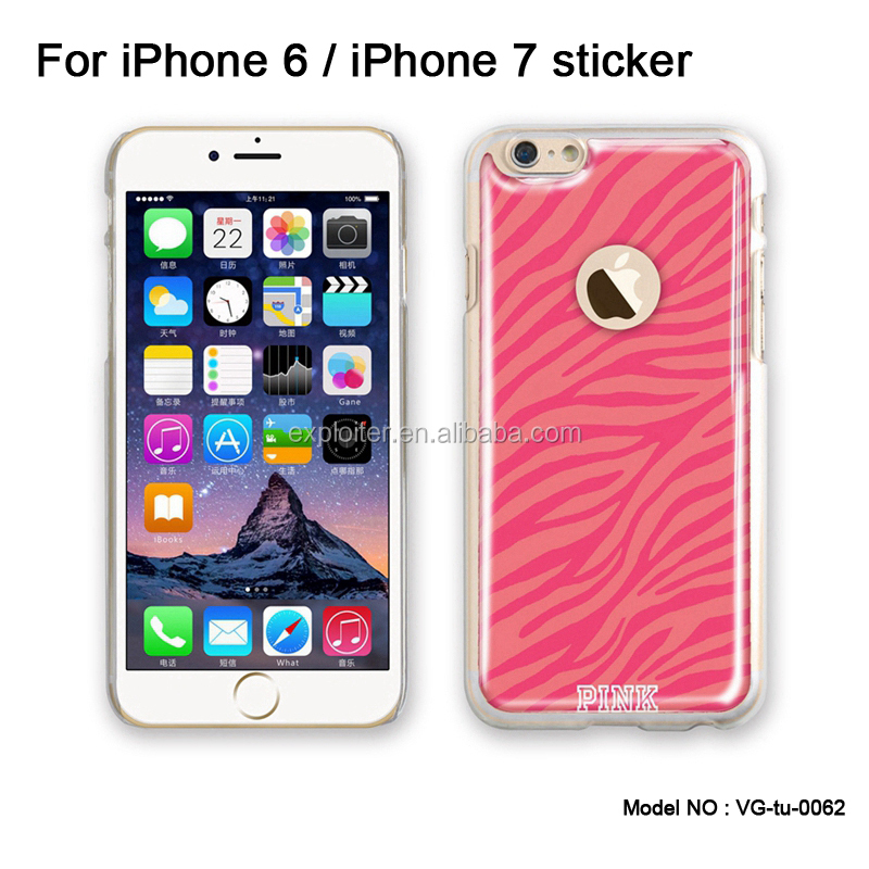 New hot selling products bulk buy cell phone sticker for iphone 7 sticker decal