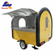 best selling fry ice cream roll cart/customized mobile food trailer/french fries food truck