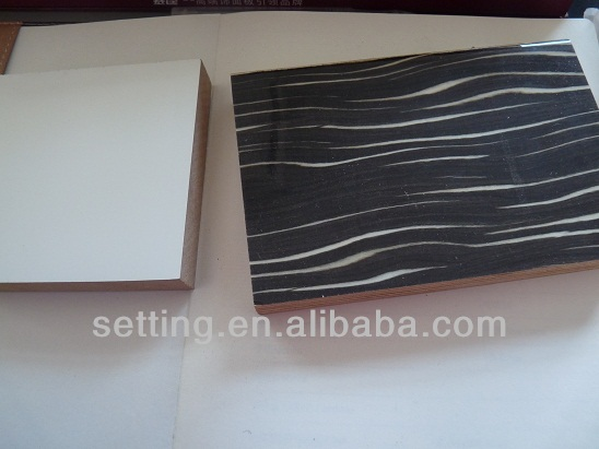 Wood Grain / High Polyme Coomposite / Acrylic MDF Boards for Modern Kitchen