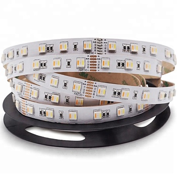 5 In 1 Waterproof 4000K 24V Double Row 5in 1 Stripe Ip65 Ip67 Ip68 5050 5In1 Rgbww Rgbwa Rgbw Led Strip