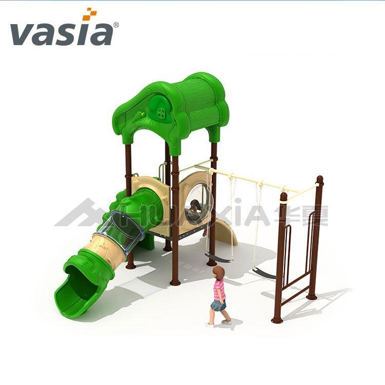 Hoa hạ Trẻ Em Giá Rẻ Sân Chơi Ngoài Trời Thiết Bị với Swing