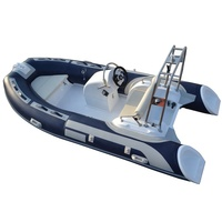 Over 20Years Inflatable Ribs Double Fiberglass Hull Deep V Rib Boat