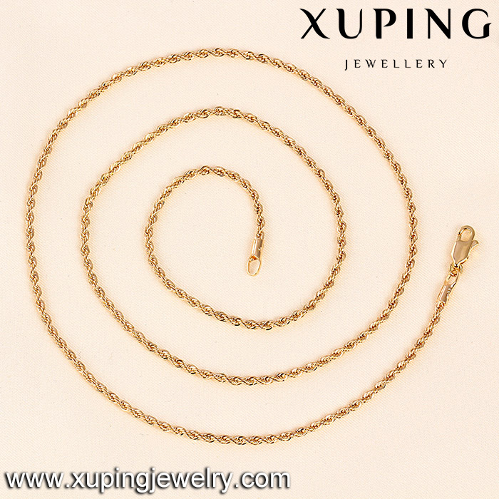 C205014/41155--Fashion long new design gold plated necklace