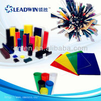 Leadwin High Quality transparent colored plastic sheet thin
