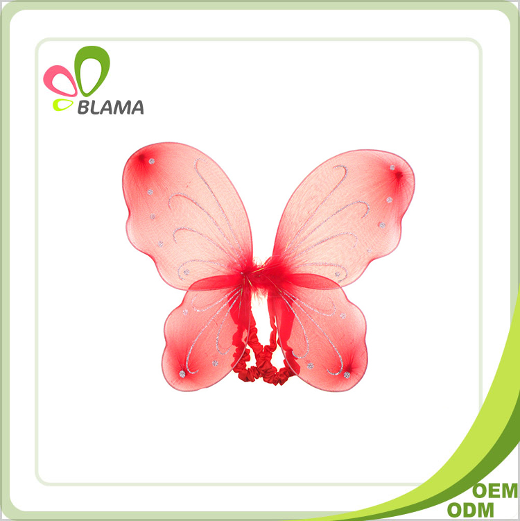Factory supply attractive price party suppliers children butterfly wings