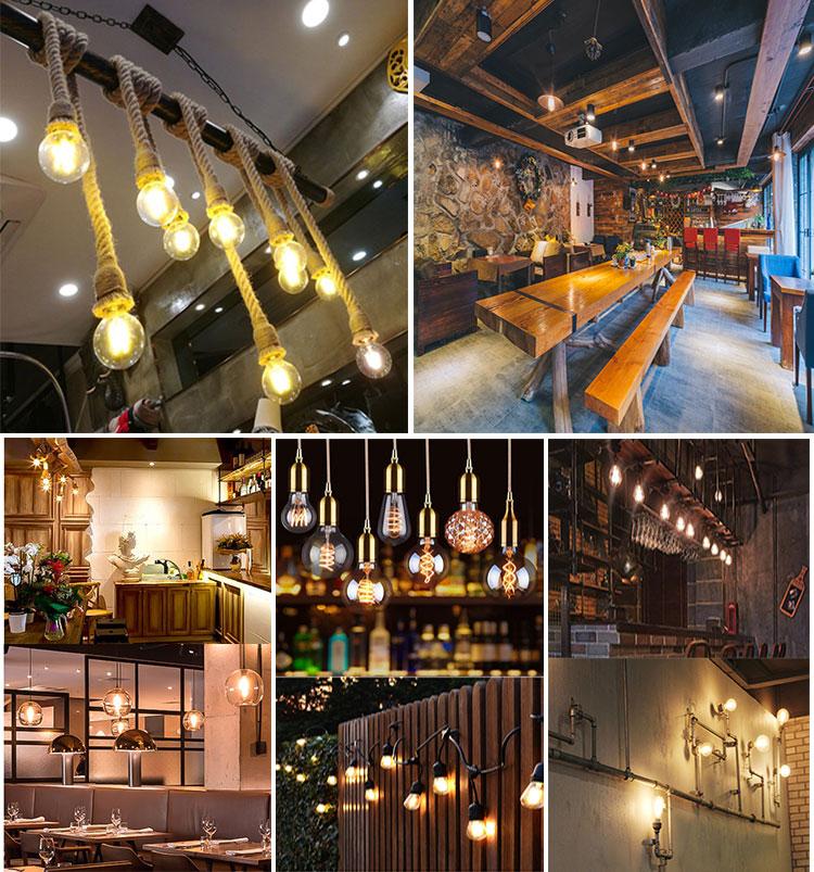 Vintage Led-lampe Dimmbare Glühlampen Edison dimmbare led kerze lampen