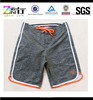 2015 Custom gray worsted knitted men's shorts/knit cotton men's sport short
