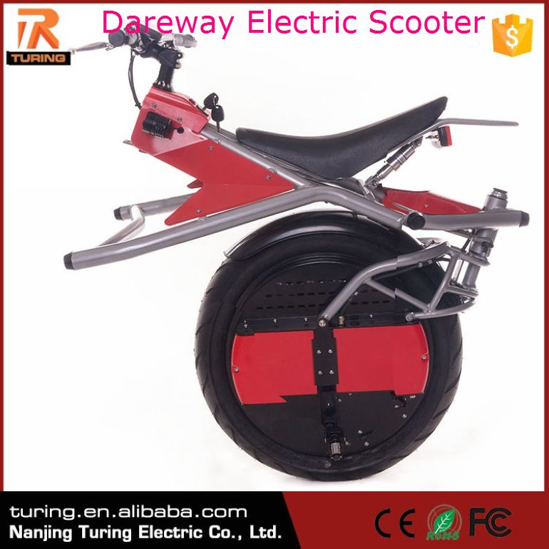 Hot New Products 2017 Carbon Fibre Inmotion Dareway Electric Scooter