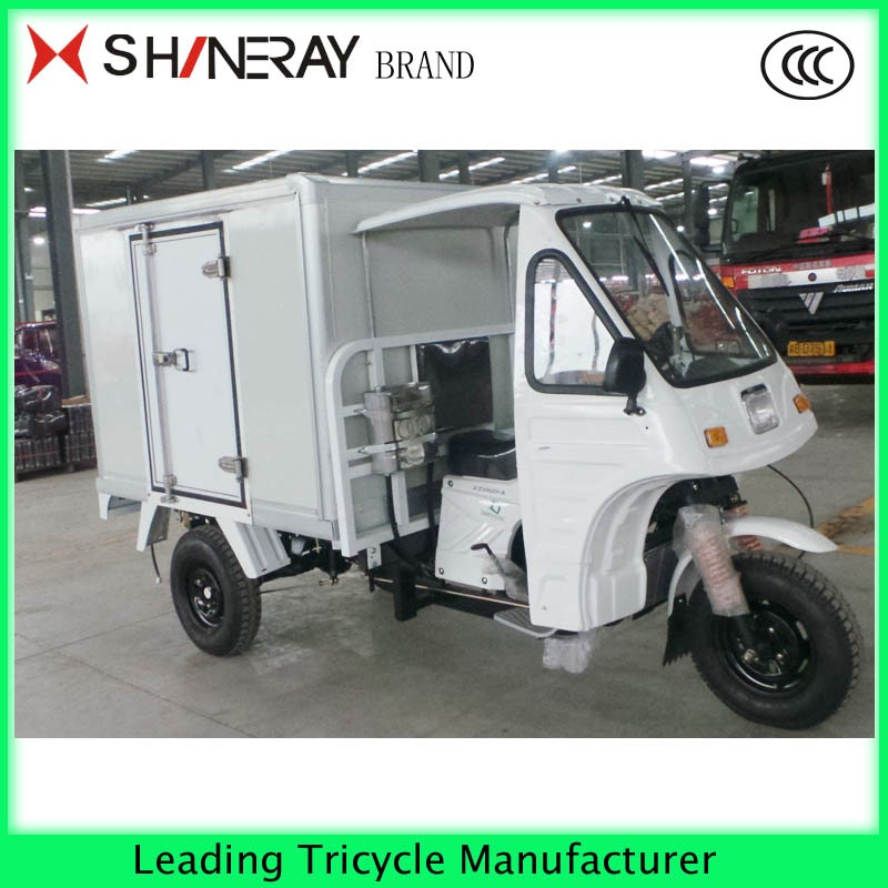 Motorcycle Truck 3-wheel Tricycle Enclosed Cargo Box