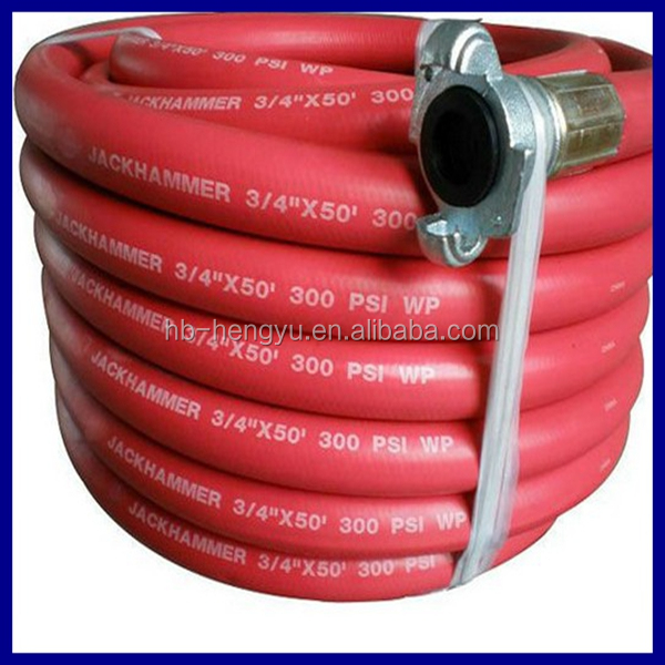 "300 PSI Jackhammer Hose with couplings 3//4/"" x 50/' Compressor Air Hose Assembly"