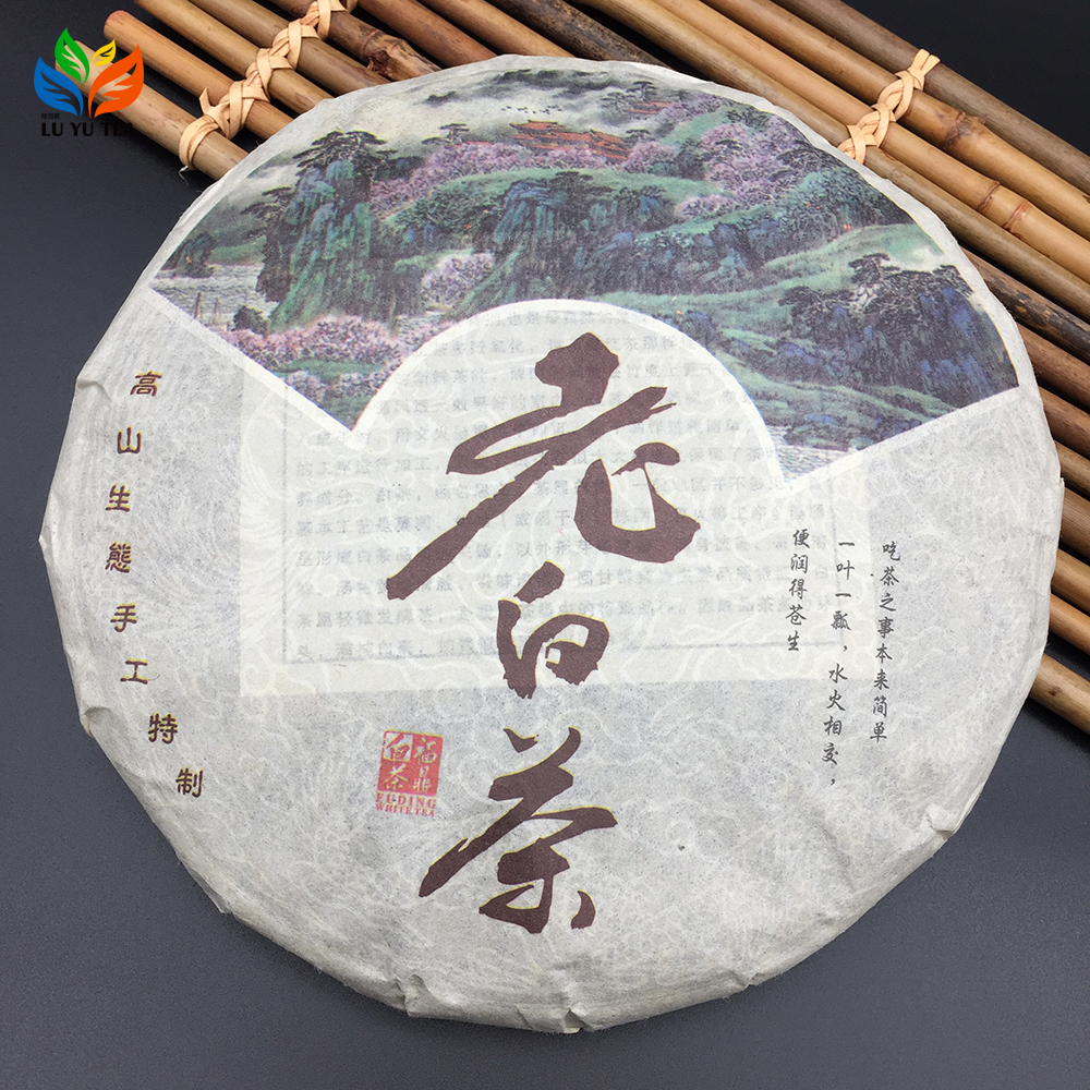 6 Years Aged White Tea High Quality Fuding White Tea Cake Compressed White Tea 357g - 4uTea   4uTea.com