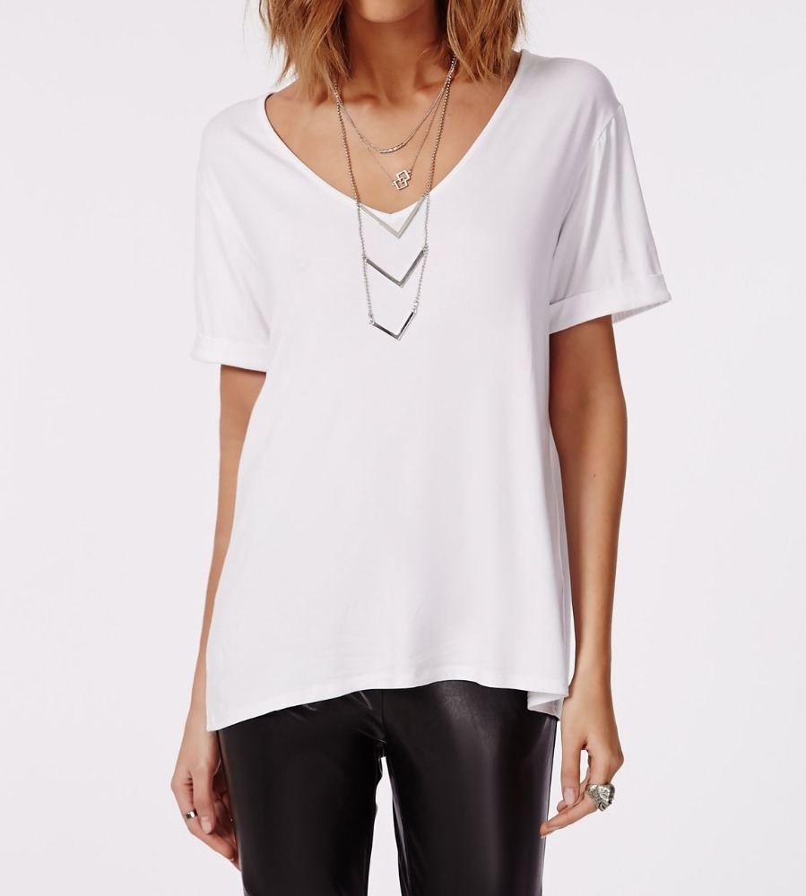 Design shirt v neck - China V Neck Design T Shirt China V Neck Design T Shirt Manufacturers And Suppliers On Alibaba Com