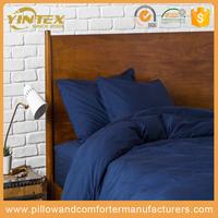 Amazon Best Selling designed beautiful hotel bedding set super soft double brushed microfiber wholesale hotel bedding sheet set