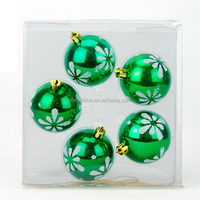 2015 new design plastic decoration wholesale high quality various design christmas ball , plastic ball christmas ornaments