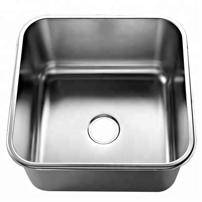 Dubai Press Kitchen Sink Stainless Steel Single Bowl Commercial
