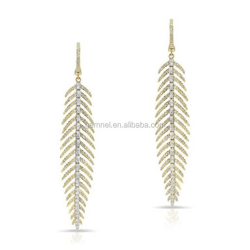 Pure Gold Earring, Pure Gold Earring Suppliers and Manufacturers at ...