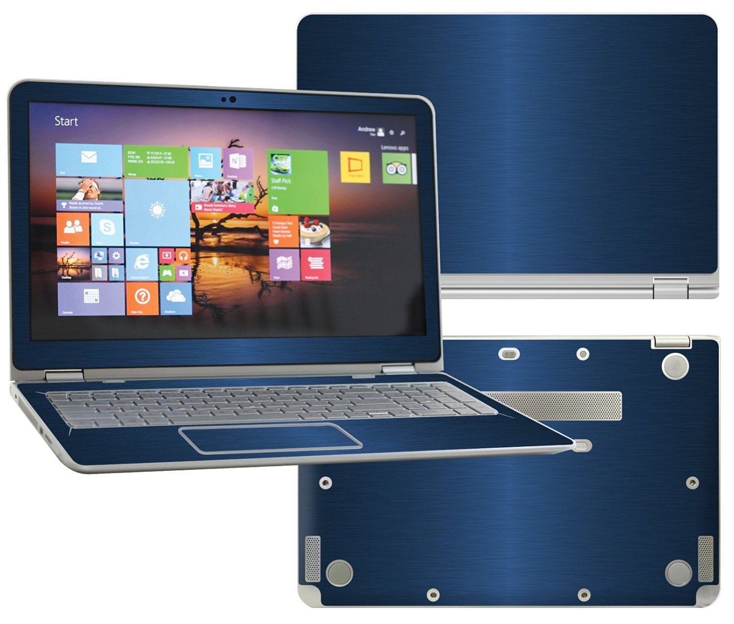 7070feefe9e3 Buy Decalrus - Protective decal for HP Envy X360 M6-w102dx 2-in-1 ...