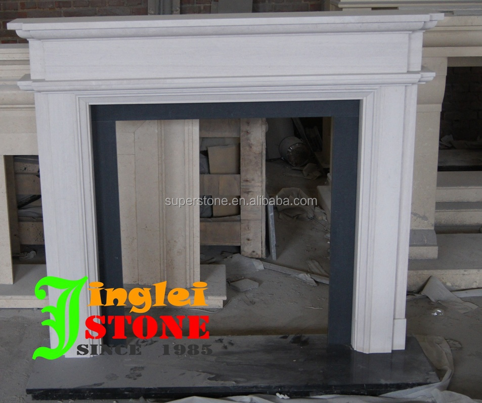 Wholesale In Marble Black Granite Fireplace Hearth Slab Stone Fireplace With Low Price Buy