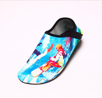 Printing cartoon pattern Water Shoes beach shoes for kids