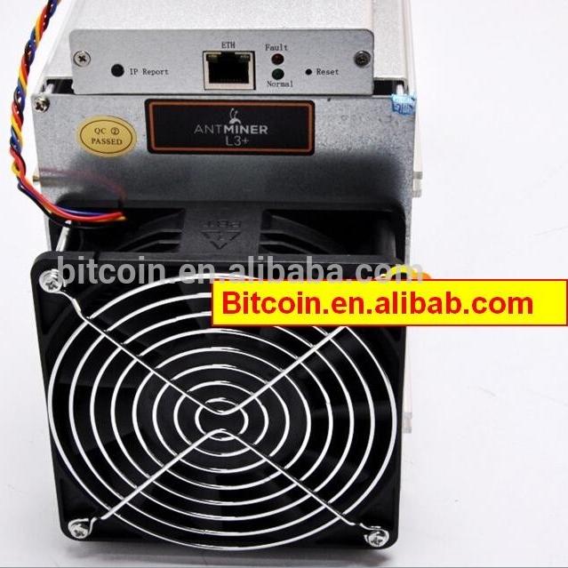 ~504MH//s ASIC Litecoin Miner AntMiner L3