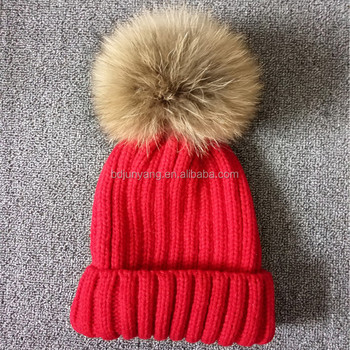 Make Your Own Winter Knitted Hat/cc Beanie Hat/wholesale Pom Pom ...