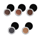 Newest 5 Color Black Packaging Waterproof Long Lasting Eyebrow Gel Private Label With Brush