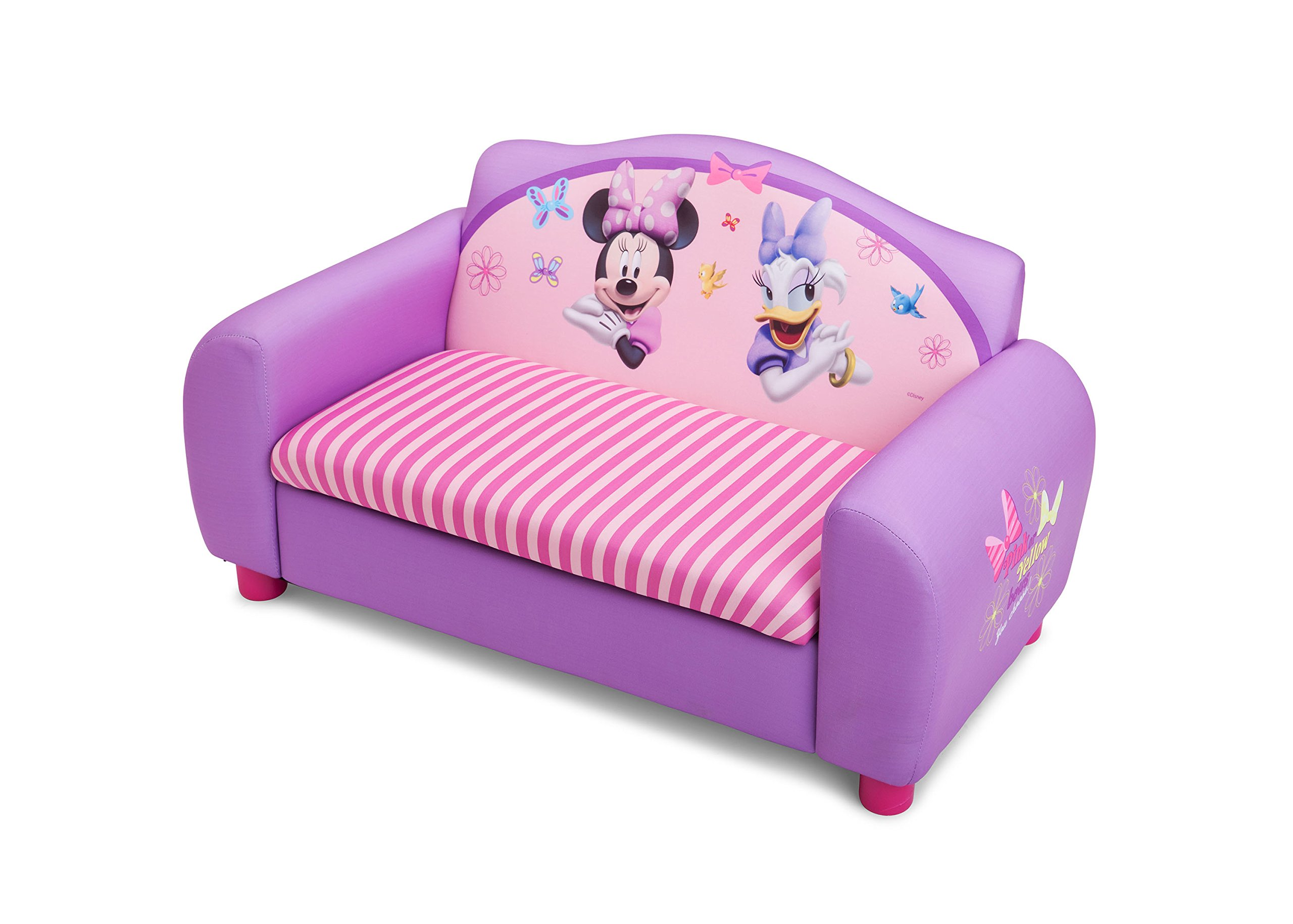 Marvelous Buy Delta Childrens Products Minnie Mouse Upholstered Sofa Pdpeps Interior Chair Design Pdpepsorg
