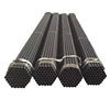 High Quality Black Iron HS Code Mild ERW Carbon Steel Pipe