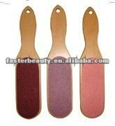Polular wooden foot file