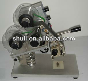 Shrink trademarks Manual Hot Stamping Coding Machine/Hand Press heat code printer/ hot code printer