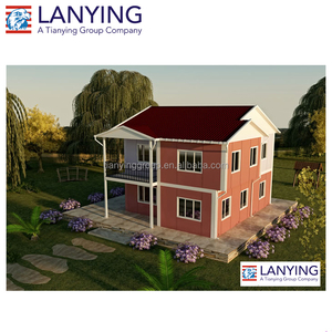 2017 new type Pre-made Home LGS Sandwich Panel Prefab House/Villa/Hotel for sale