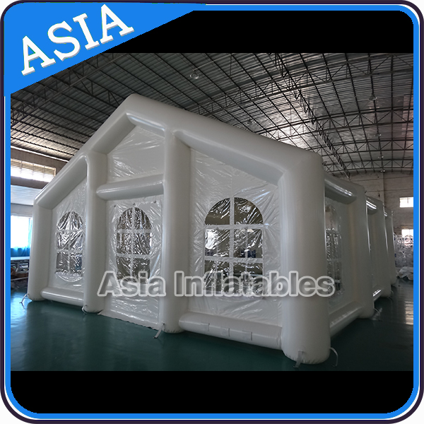 Affordable inflatable air tight party tunnel tent / hottest wedding inflatable marquee in Church shape for advertising