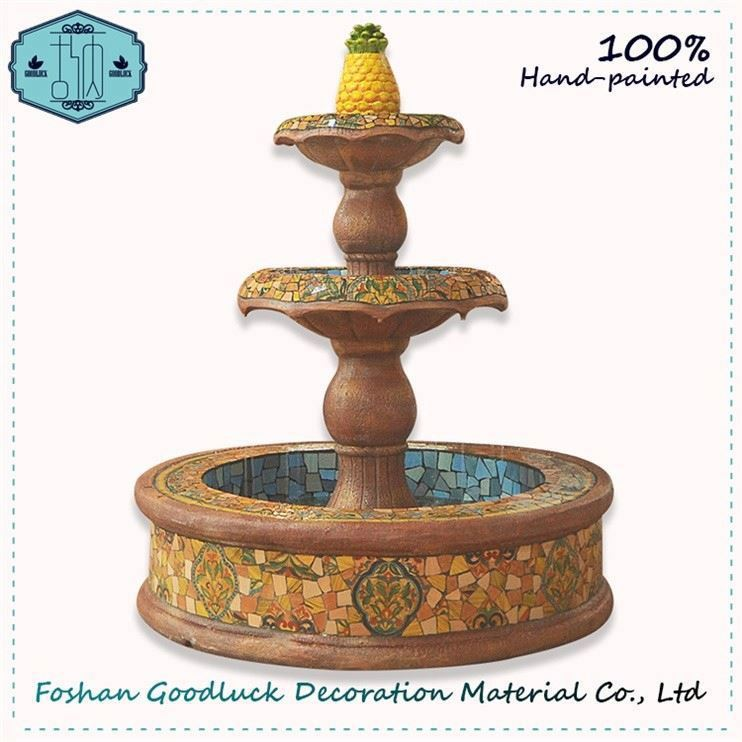 Wall Hanging Water Flow Fountain Figurine Indian Statue Home Decor