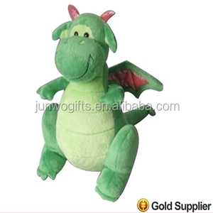China custom30cm green dragon China stuffed plush toys