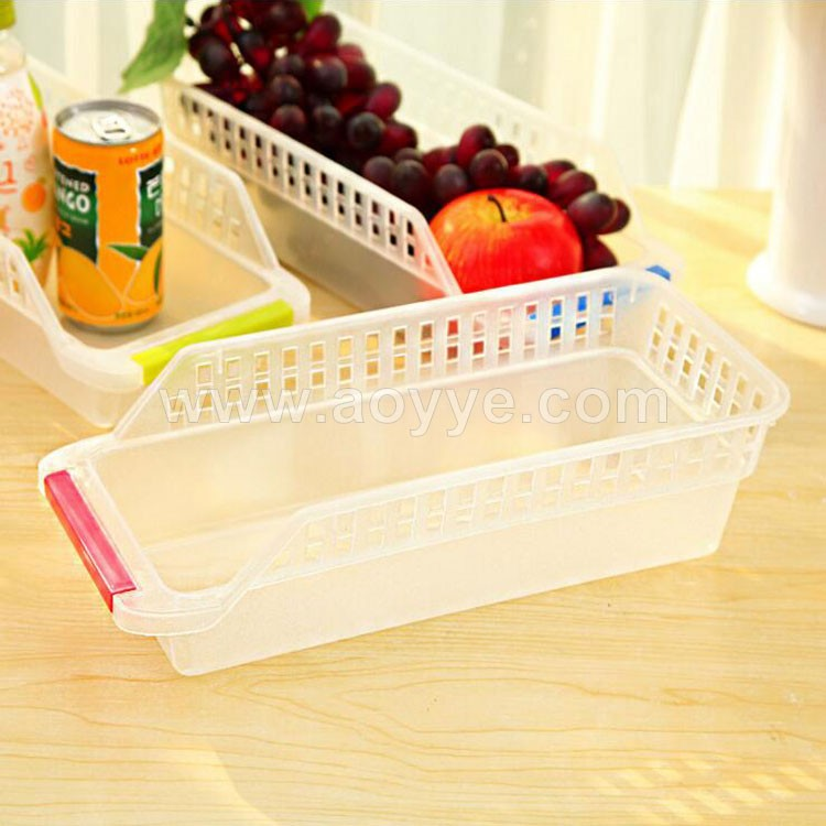 Creative portable eggs receive case fruit beverage refrigerated plastic storage preservation box kitchen cutlery drawer