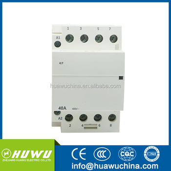 New Type Modular Contactors 63a 2p 4p 1p Household Ac Contactor Home  Electrical Type - Buy Modular Contactor,Types Of Ac Magnetic  Contactor,Household