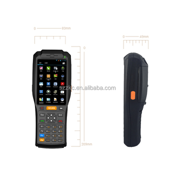 Zkc3506 Android Data Collection Pda Terminal With 4g Wifi Bluetooth Gps Nfc  Scanner Printer - Buy Data Collection Pda,Android Pda Terminal,Qr-code