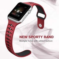 New Arrival 2019 silicone Band for iWatch, for Apple Watch Sport Band